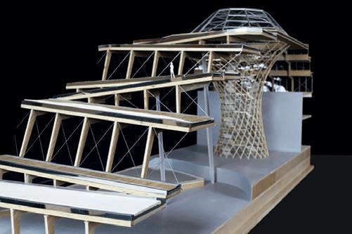 Fig. 10 Study model by JFA Architect
