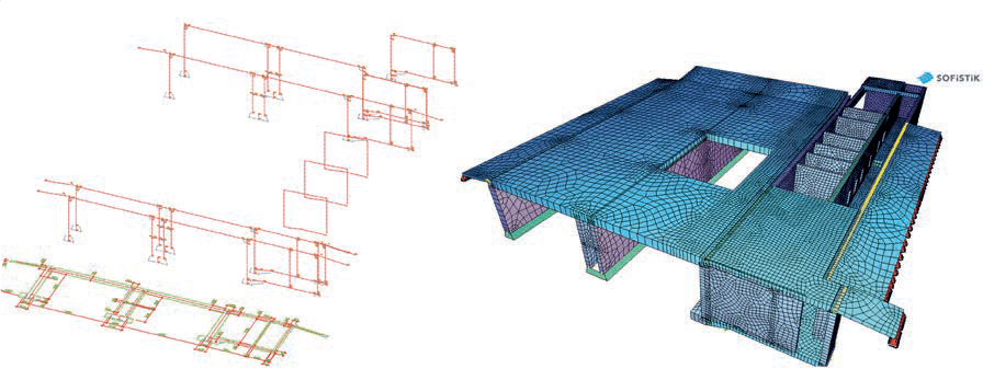 Fig. 8 Advanced structures - geometric modeling