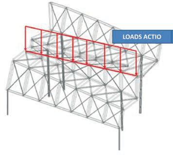 Fig. 8a Example of load transfer